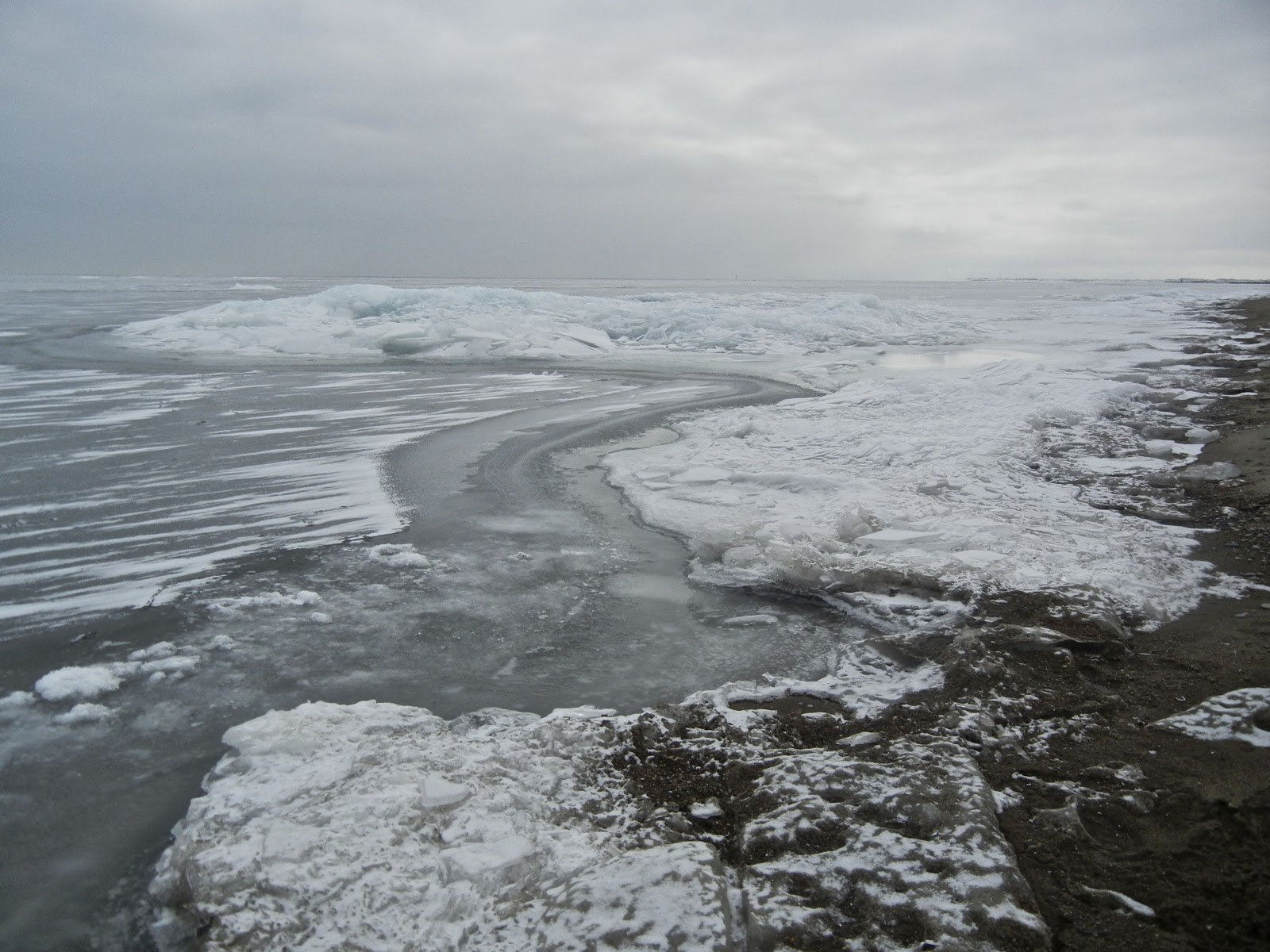 Ice Events To Wake The Soul An Afternoon On Lake Erie Sierra - Lake erie salt mines