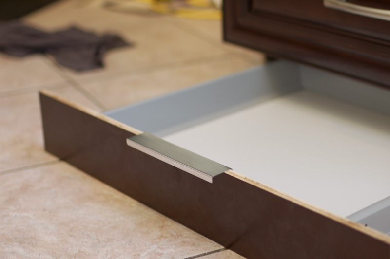 Kitchen Renovation: How to Make a Secret Toekick Drawer