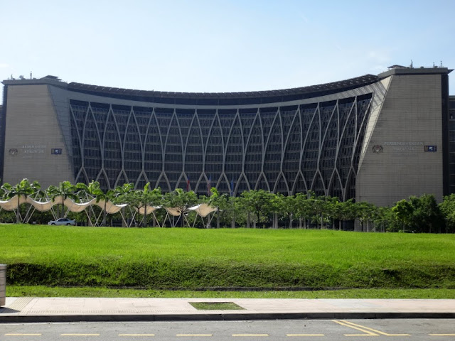 The Ministry of Finance is a building complex housing the Malaysian Ministry of Finance in Putrajaya, Malaysia