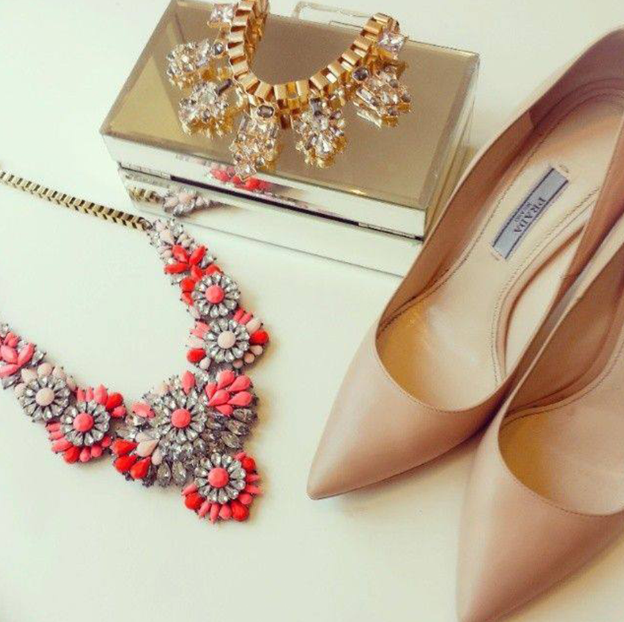 Shoes With Matching Bags And Jewelry