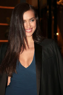 Irina Shayk Cleavage And Legs Candids At Roberto Cavalli Boutique Opening In Milan 040.jpg