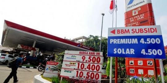 BBM Naik Menjadi Rp.9.500 Per Liter
