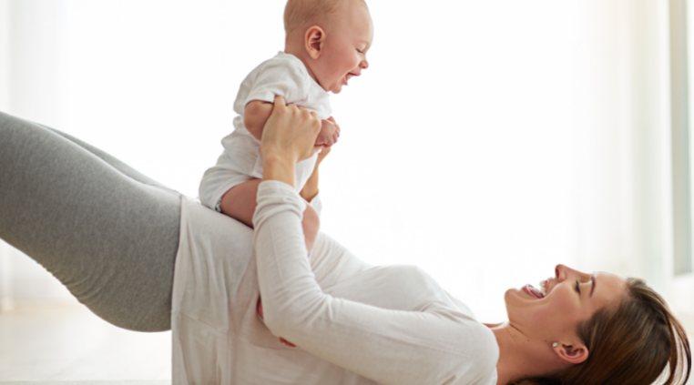 lieknėti po gimdymo