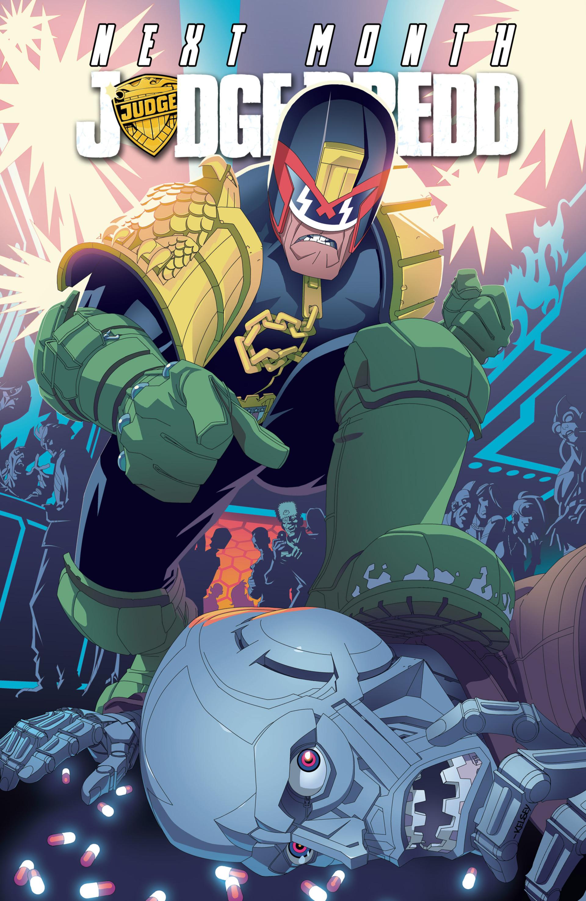 Read online Judge Dredd (2012) comic -  Issue #22 - 23