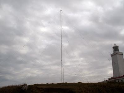 Farol de Santa Marta - Antenas