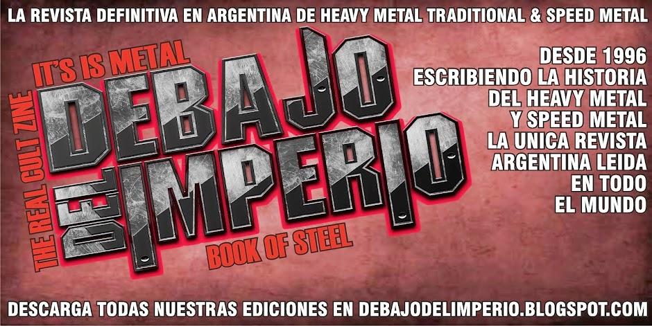 Debajo Del Imperio Zine: El Libro del Metal en Argentina