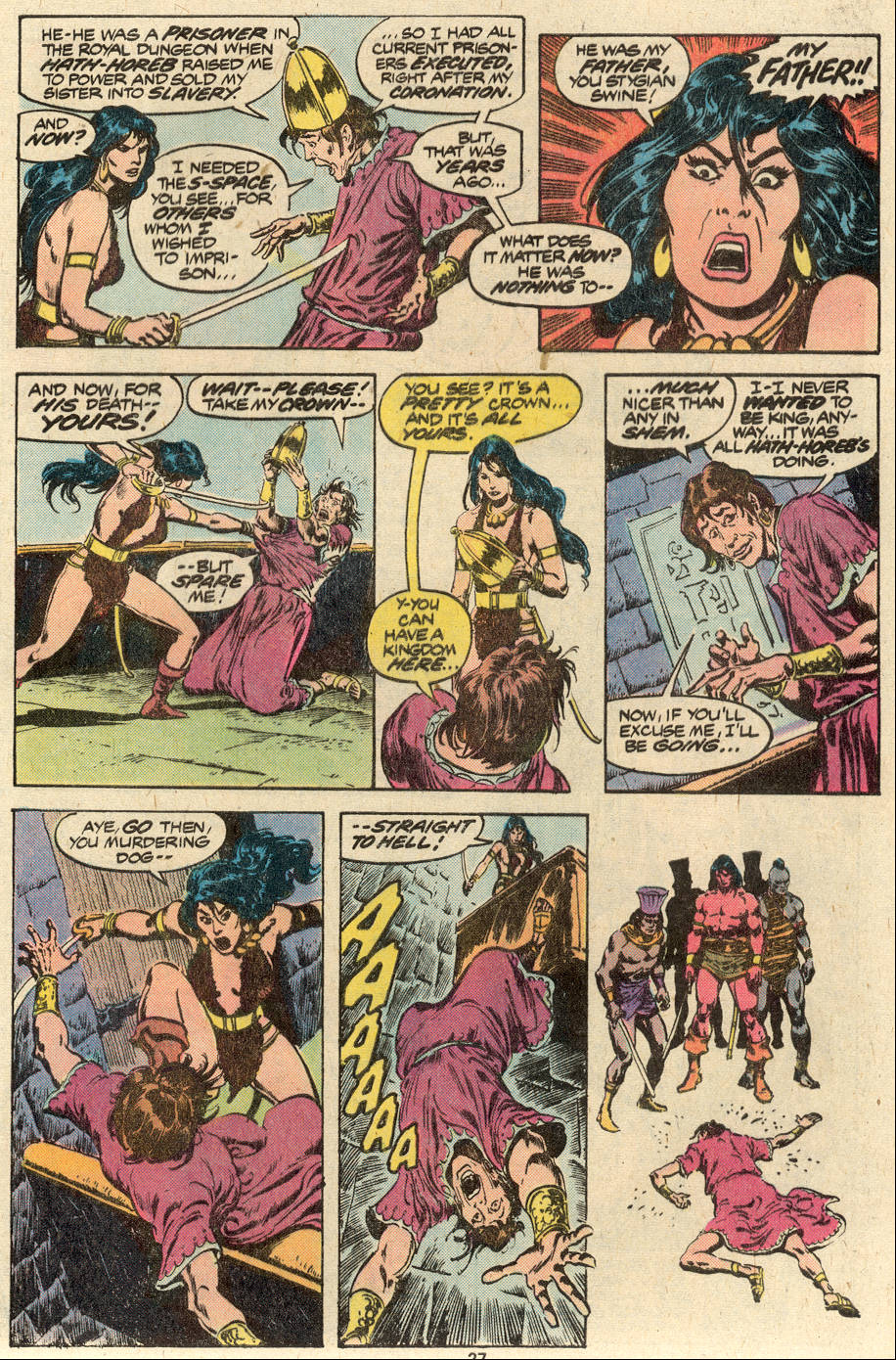 Conan the Barbarian (1970) Issue #88 #100 - English 15