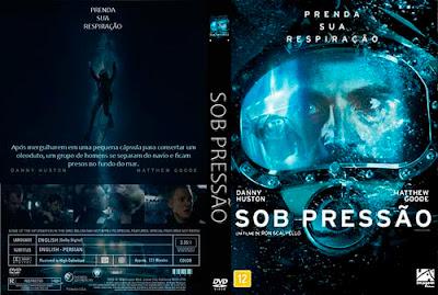 Filme Sob Pressão DVD Capa