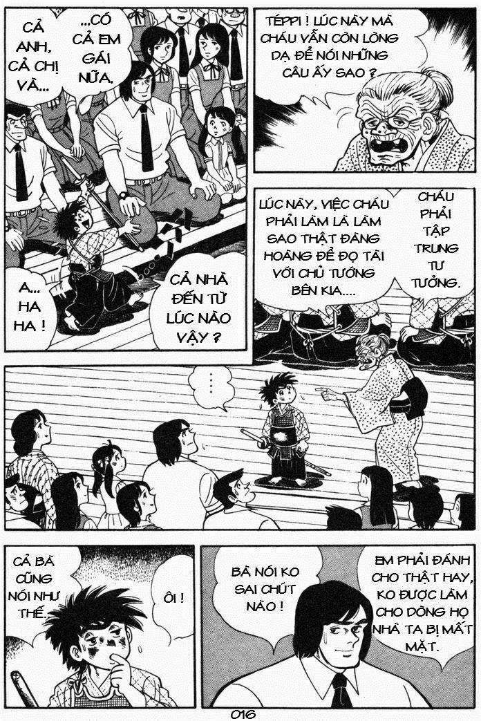 Siêu quậy Teppi chap 53 - Trang 16