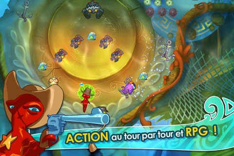 Screenshot of video game Squids