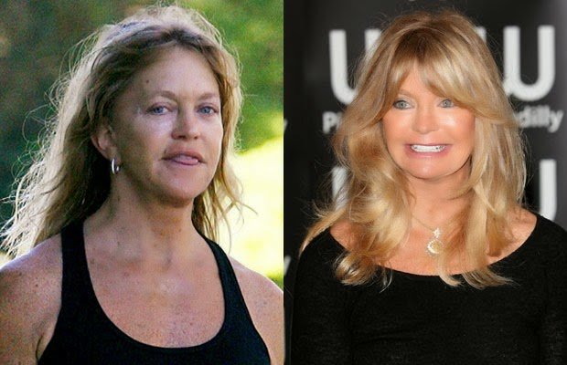 shocking celebrities without makeup photoshop