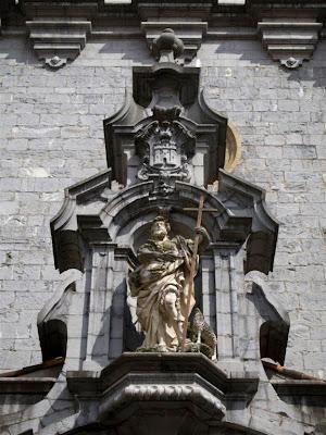 San Juan y el escudo de Tolosa