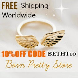 10% off at Born Pretty Store with code BETHT10