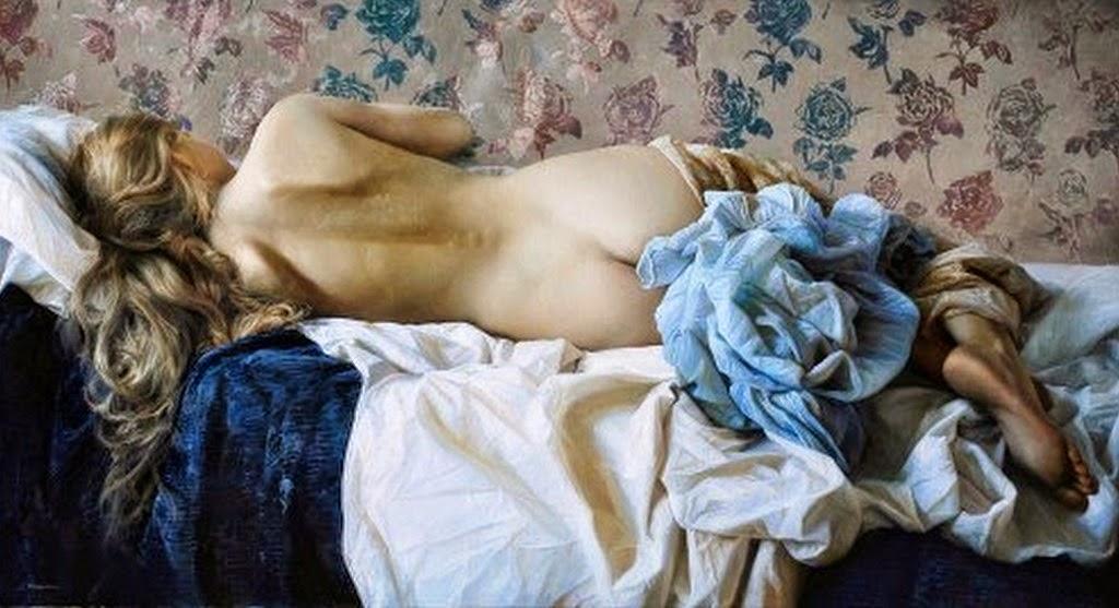 Desnudo Artistico Pintura Cuadro