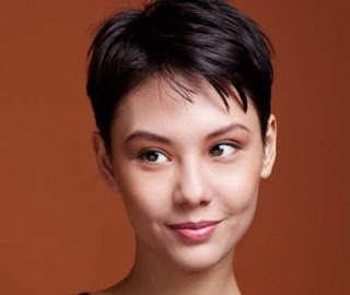 model rambut pendek wanita asia short layered