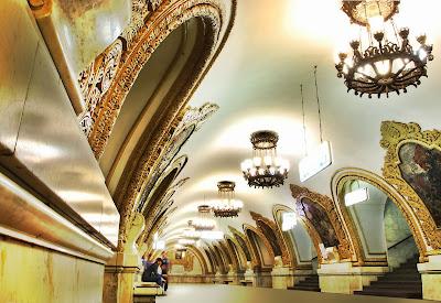 Kíevskaya - Metro de Moscú