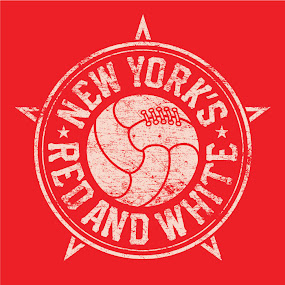 The NY's Red & White Shirt