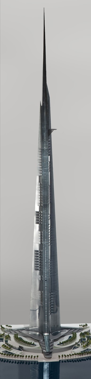 Detailed model of Kingdom Tower