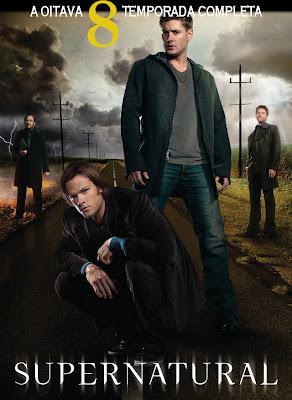 Supernatural - 8ª Temporada Completa - HDTV Legendado