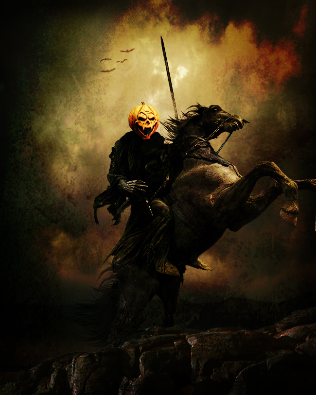 Fashion And Action The Headless Horseman Halloween Art Gallery