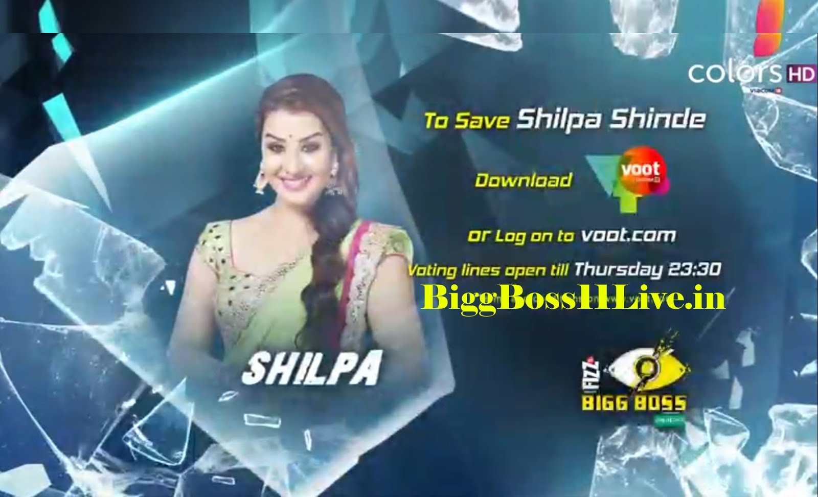 Colors website bigg boss 9 voting - Bigg Boss 11 8th Week Eviction Vote For Your Favorite