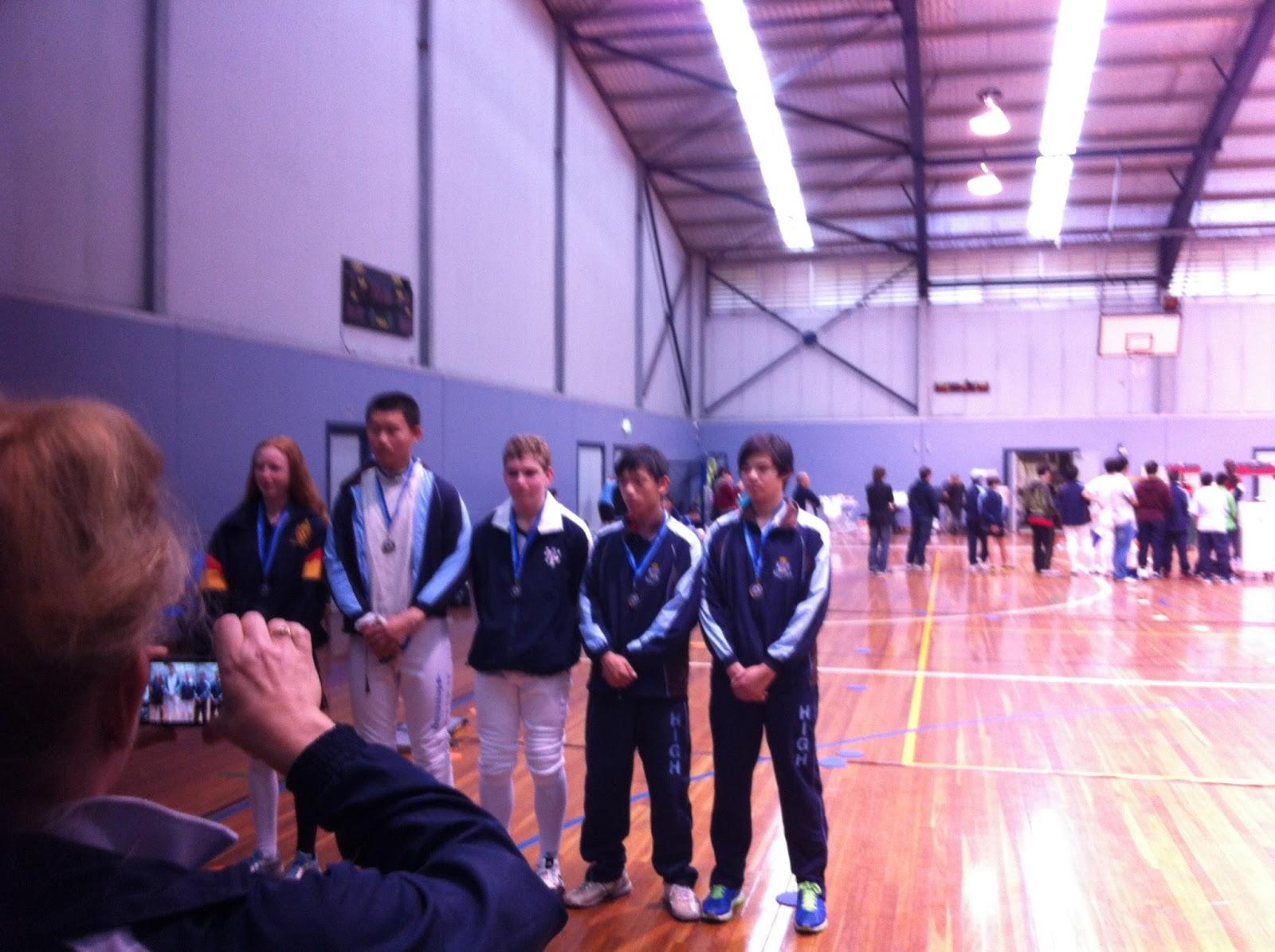 Mosman Fencing Academy School S Championships U 15 U