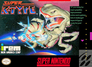 super r-type snes cover