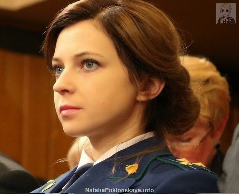 Natalia Poklonskaya Photos Videos News About Crimea S Attorney General January 2015
