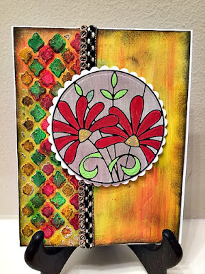 ESF Mixed Media Card