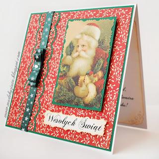 scrapbooking kartka boże narodzenia card making