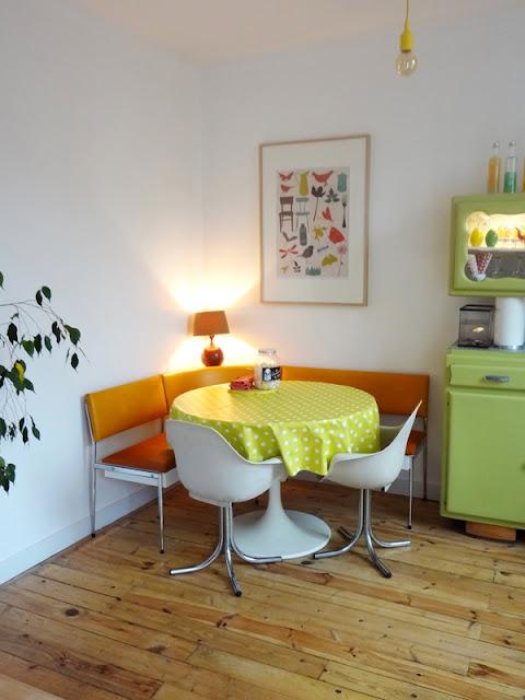 Küche im 70er-Jahre-Design-Rausch