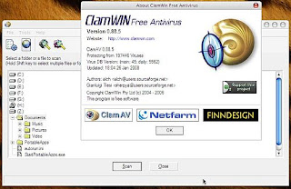 Download ClamWin Free Antivirus 0.97.6