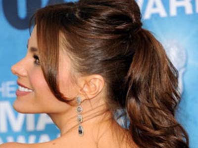 Five Everlasting Hairstyle: Ponytail Sofia Vergara