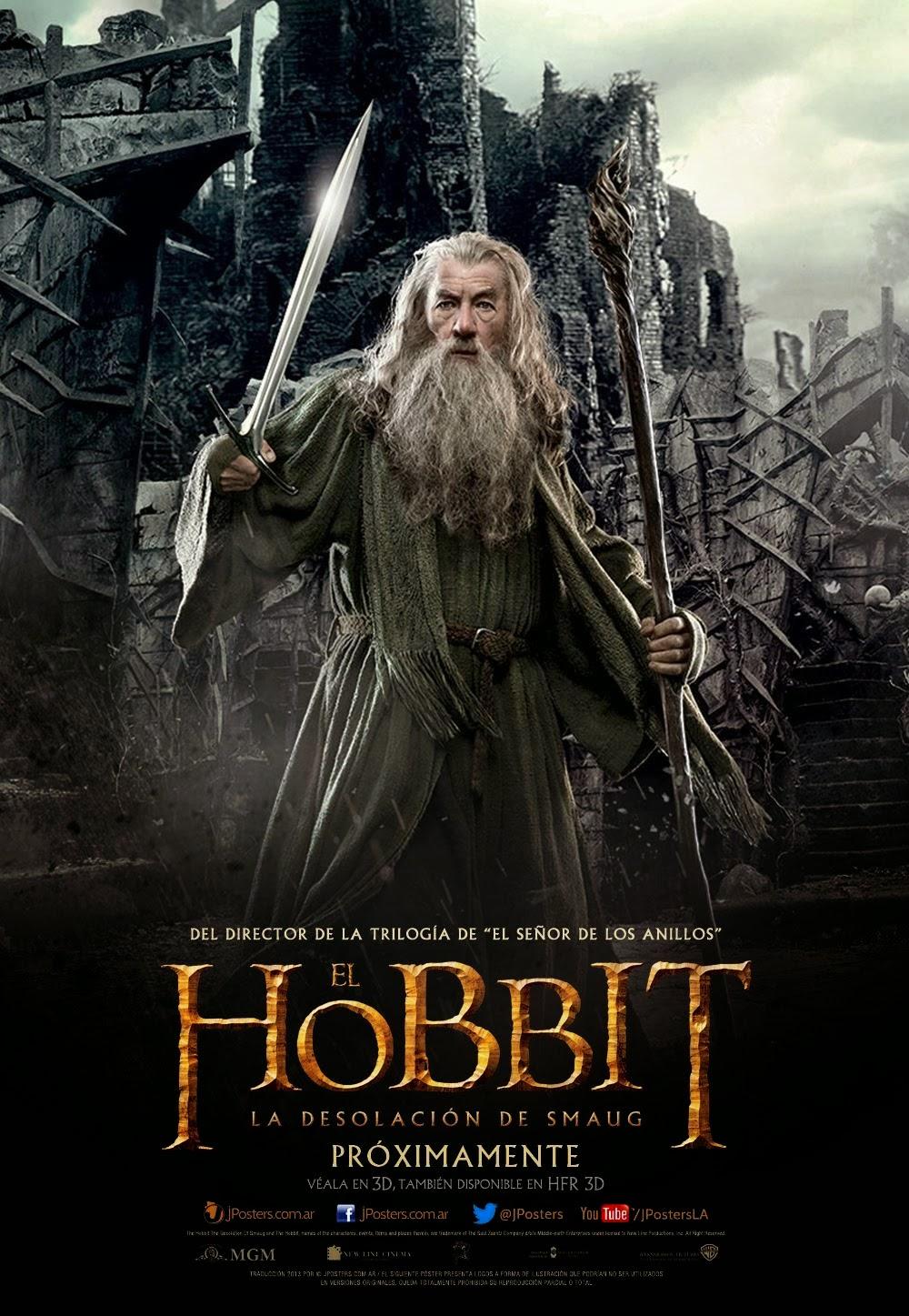 El Hobbit: La desolación de Smaug 3D SBS Dual 2013