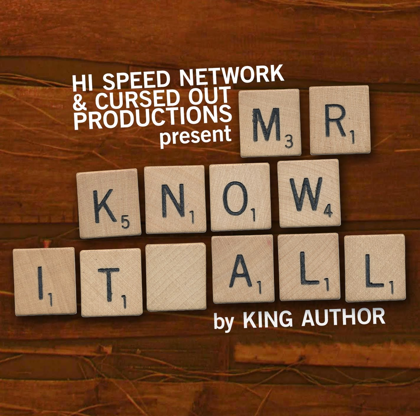 Mr Know it All (CD) $10.00 +Shipping