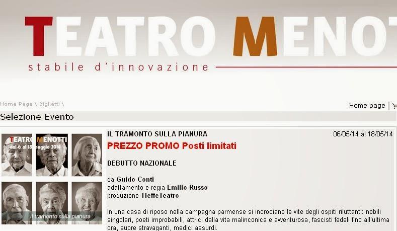 Ninni Picone al Menotti di Milano