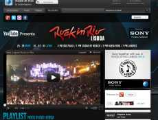 Rock In Rio Lisboa en vivo por YouTube