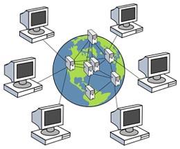 WAN digunakan untuk menghubungkan jaringan lokal yang satu dengan