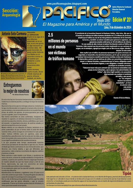 Revista Pacífico Nº 201 Arqueología
