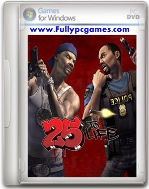 25 To Life Free Download FULL Version Cracked PC Game