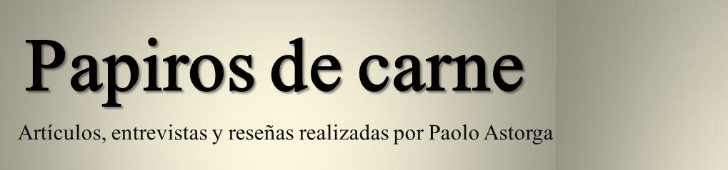 PAPIROS DE CARNE