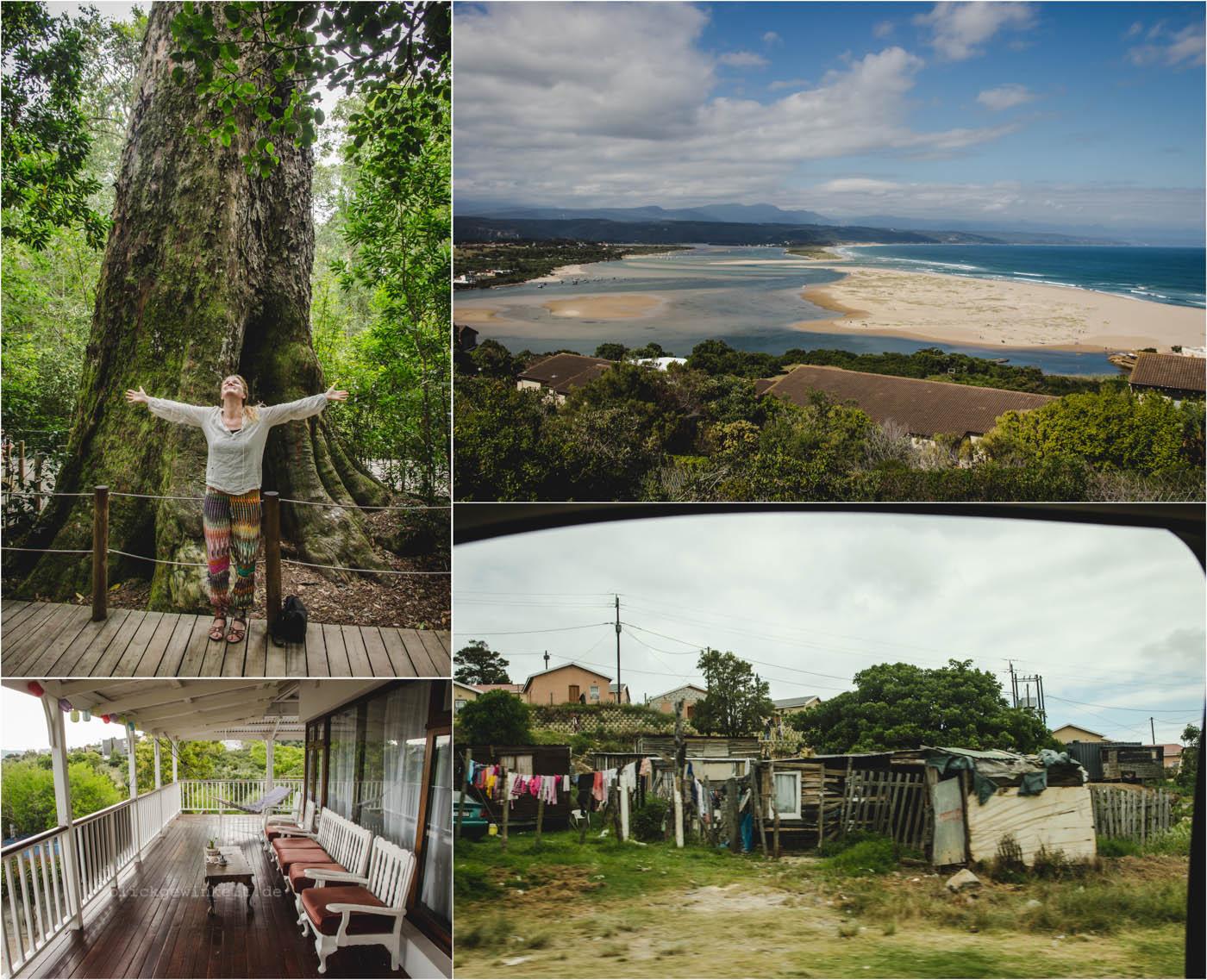 Collage Südafrika - Garden Route