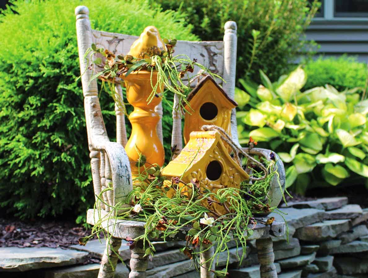 Candlelight solutions birdhouse centerpiece ideas - Decorating with bird houses ...