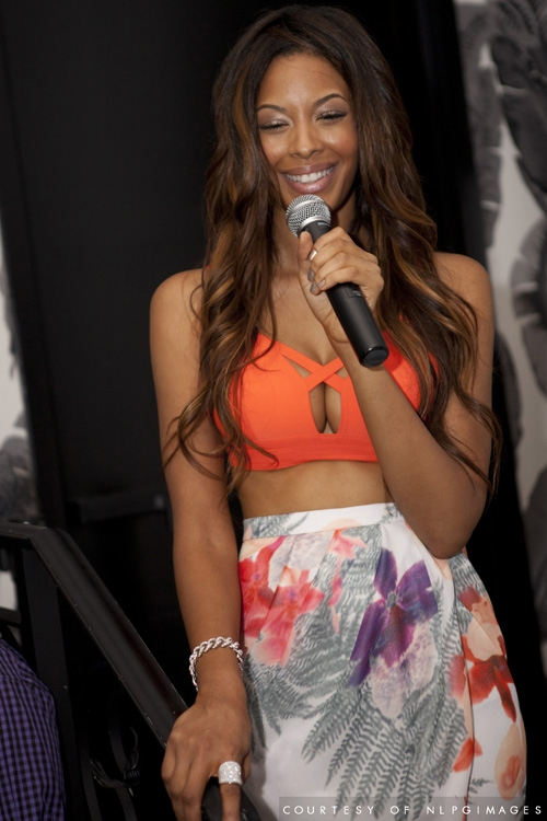 Vanessa Simmons Debuted Her Rose By Vanessa Jean Clothing Line For