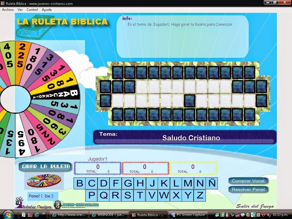 Blog de la parroquia de padrn juego la ruleta bblica juego la ruleta bblica urtaz Images