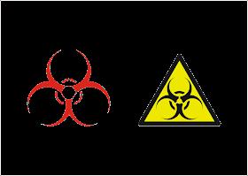 Biohazard Logo Vector download free