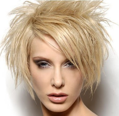Messy Short Hairstyles 2013