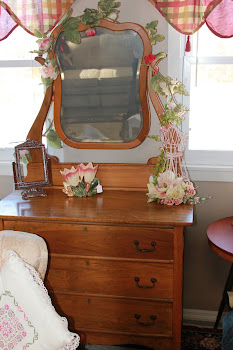 Lovely Dresser with Mirror