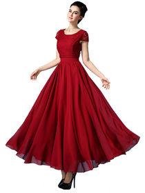 Koleksi gaun dewasa trendy style wanita masa kini
