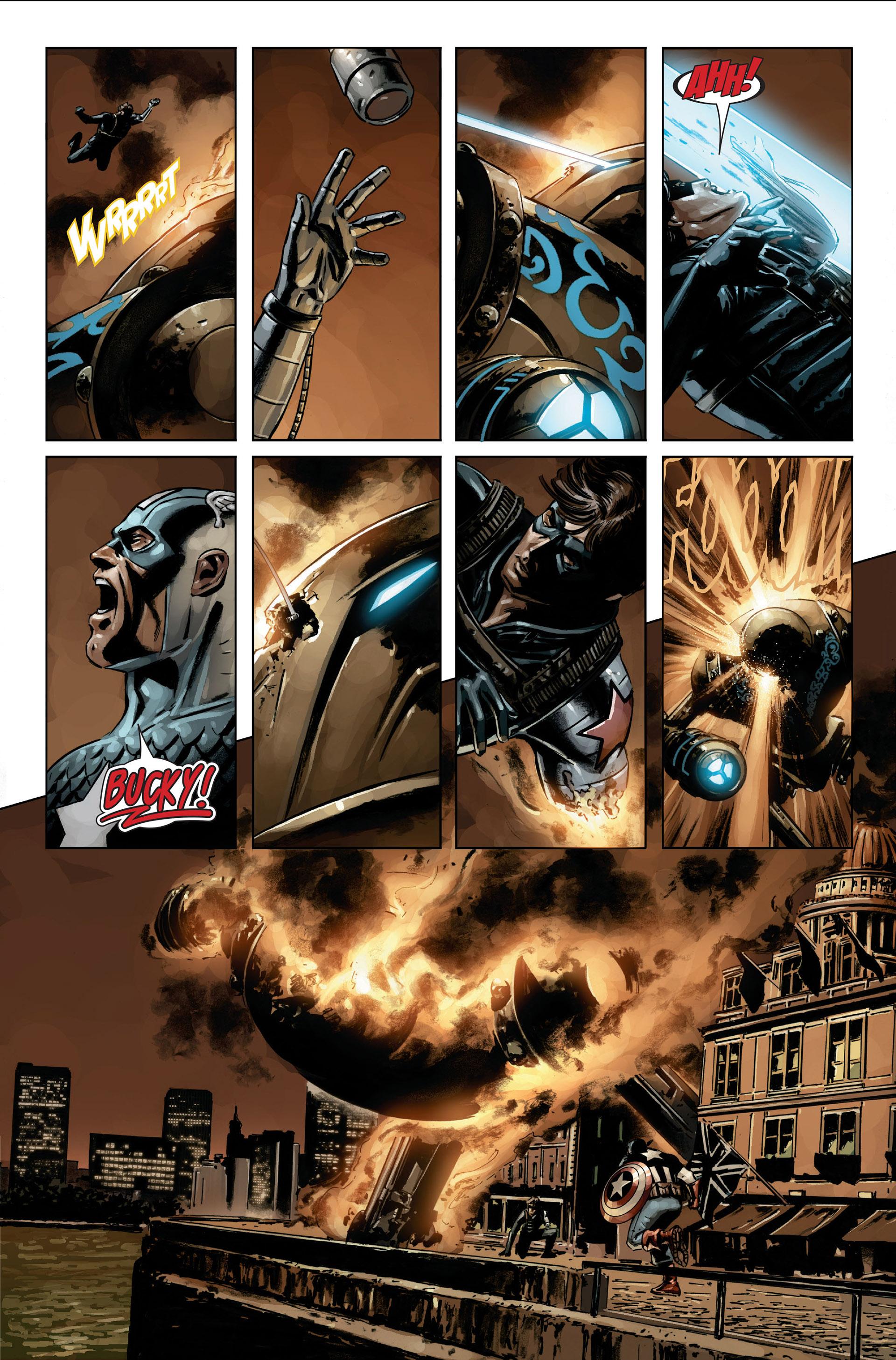Captain America (2005) Issue #21 #21 - English 16